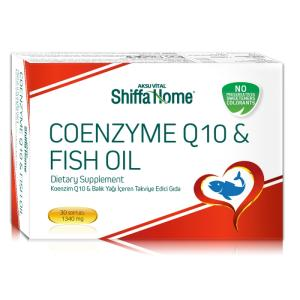 Wholesale Health Food: Coenzyme Q10 & Fish Oil Softgel Capsule in Blister Pack Health Food Supplement