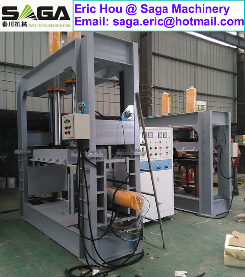 HF Three-Direction Hot Press for Curved Plywood Forming High Frequency Wood Curving Machine