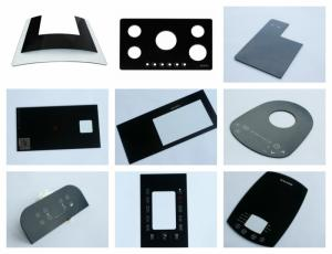 Wholesale home appliances: Custom Tempered Glass Control Panel for Home Appliance Touch Panel
