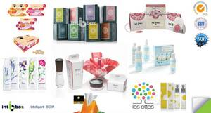 Wholesale paper gift boxes: Paper Cosmetic Box, Gift Box