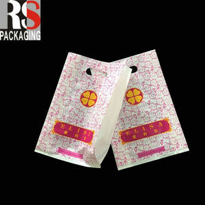 Wholesale plastic shopping bag: Low Cost Custom Non-Woven Grocery Plastic Promotional Shopping Bag with Logo