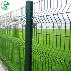 Wholesale 3d welded mesh fence: Hot Sale PVC Coated 3D Folding Wire Fence From Factory