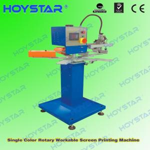 Wholesale t shirt printing machine: T Shirt Label Silk Screen Printing Machine Printing