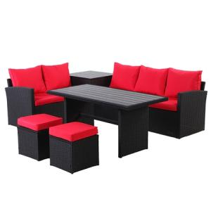 Wholesale can 100% recyclable: Hot Style Outdoor Furniture/ Rattan Sofa Set/ Poly Rattan Outdoor Furniture