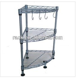 Exceptional Metal Kitchen Corner Shelf Rack Image