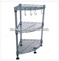 See Larger Picture : Metal Kitchen Corner Shelf Rack