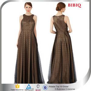 Wholesale evening dress: Junoesque Chocolate A-Line Floor Length Women Evening Party Dresses