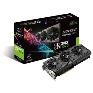 Wholesale Graphics Cards: ASUS GeForce GTX 1070 8GB ROG STRIX OC Edition Graphic Card