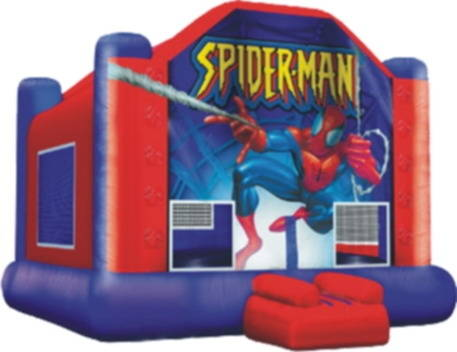 Inflatable Toys: Sell inflatable spider-man bouncer castle