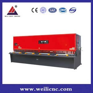 Wholesale hydraulic shearing machine: Qc12y-25*3200 CNC Hydraulic Shears,Hydraulic Cutting Machine