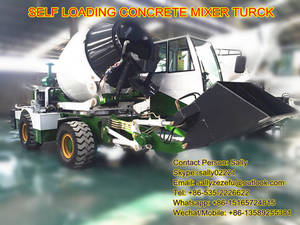 Wholesale Concrete Mixers: 1.6m3 Self Loading/Self Propelled Concrete Mixer Truck