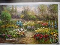 Landscape Oil Painting On Canvas 100% Hand-made LD008