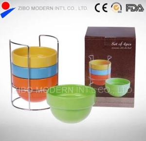Wholesale Tableware: High Quality Color Glazed Bowl Porcelain Dinnerware Bowl