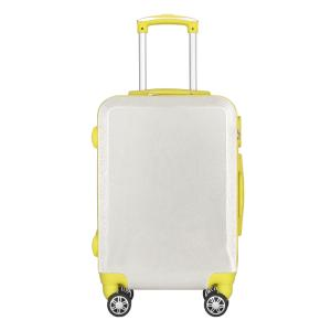 Wholesale trolley case: ABS PC Cute Girl's Glitter Travel Trolley Suitcase Luggage Bag