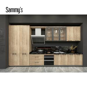 Wholesale decorative hardware: Foshan Kitchen Furniture Sammys Kitchen Cabinet Design