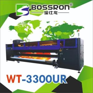 Wholesale industrial inkjet parts: 3.3M WT-3300UR  UV Printer Roll To Roll Konica 1024i 2880 dpi