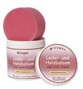 Wholesale second hand shoes cream: Wicopur Leather Care & Wood Balm