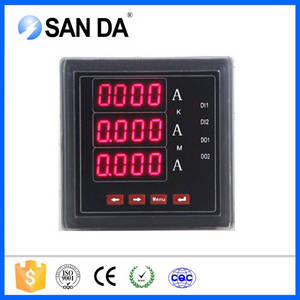 Wholesale Current Meters: Electrical Instruments Three Phase Digital Ammeter AC