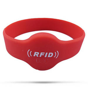 Wholesale Access Control Card: RFID Silicone Wristband