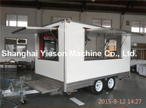 Wholesale refrigerant gas: Best Selling High Quality Mobile Kitchen Food Van Truck YS-FB390A