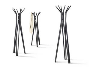 Wholesale clothing racks: Polar Solid Bamboo Coat Rack/ Coat Hanger/Clothes Rack