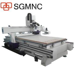 Wholesale wood router price: Factory Price!CNC Router 1325 ATC Woodworking Center with Vacuum Table Wood Shaper Cutter