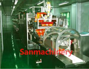 Wholesale spunlace non woven fabric: Automatic Baby Wet Wipes/Wet Tissue Making Machine with CE