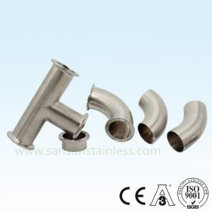 Wholesale sanitary fitting: Sanitary Stainless Steel T304 and T316L 3A DIN SMS Rjt Pipe Fittings