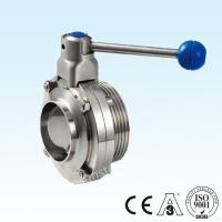 China Stainless Steel Food Grade Sanitary SS304/SS316L Manual Butterfly Valve 2
