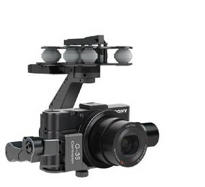 Wholesale 3 axis gimbal: G-3S Professional 3-Axis Brushless Gimbal for Sony RX100II Camera Does Not Contain A Camera