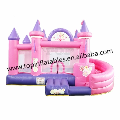 TOP Inflatable Bouncer Jumping Castle Bouce House for Kids and Adult