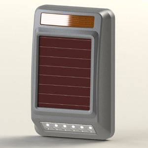 Wholesale wireless chargeable lighting: Solar-powered Wireless Warning Lamp