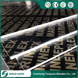 Wholesale Timber: 4'*8'*18mm Black/Brown Film Faced Marine Plywood