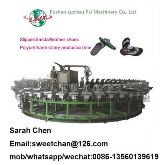 Sell Leather shoes making machine pu shoe producing machine