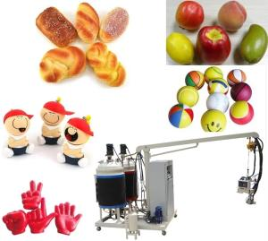 Wholesale caster: PU Toy Foaming Machine/PU Tire and Caster Molding Machine