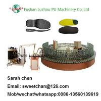 PU Insole Foam Machinery, Double Color Insole Making Machine