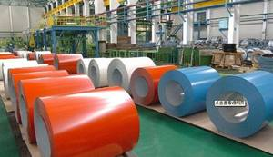 Wholesale color steel coil: Color Galvanized Steel Sheet in Coils