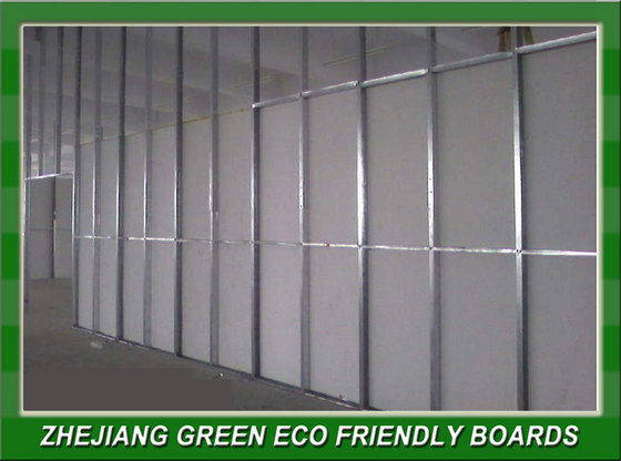 Calcium Silicate With Mirror Backing : Fiber cement board partition wall id product