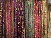 Sell Silk Velvet Curtains