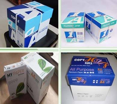 Sell Wholesale Office paper type A4 copy paper 70 80gsm