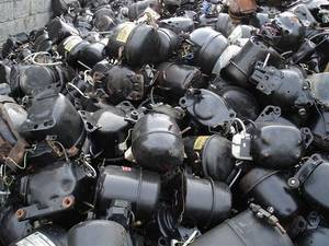 Wholesale compressors: Fridge Compressor Scrap SEALED UNITS.