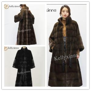Wholesale clothing: Russian Sable Fur Coat Fur Women Clothing with Best Price Mink Fur Coat