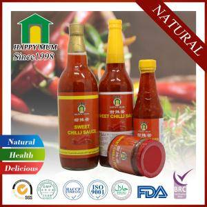 Wholesale red chili sauce: Halal Thai Style Sweet Chilli Sauce Top Quality