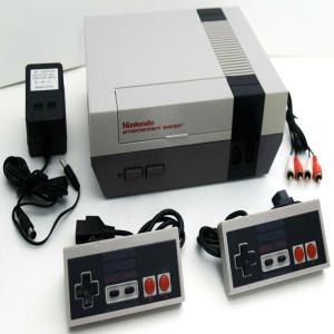 Wholesale nintendo: 2 CONTROLLER Nintendo Entertainment System NES-001 Video Game Console Bundle Set