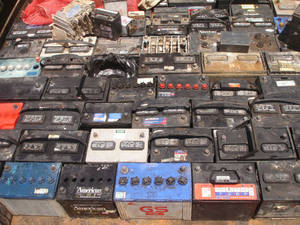 Wholesale Auto Electrical System: Used Battery Scraps