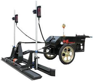 Wholesale laser screeds: Two  Wheel Self  Controlled Laser Screed Aolide