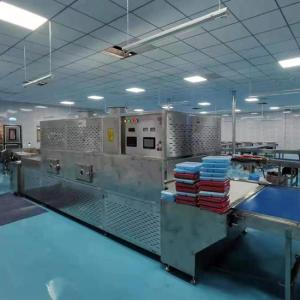Wholesale meat processing: Tunnel Continuous Microwave Fast Food Heating Machine,Ready Meal Heating Equipment