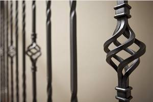 Wholesale Balustrades: Solid/Hollow Pipe Iron Baluster(ISO Factory)