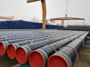 Wholesale binding material: 3PE Coated-Polyethene Coating Seamless Pipes 1/2''-24''