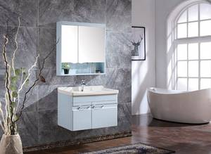 Wholesale wash basin: Mirror Washing Basin Cabinet Vanities Made in China